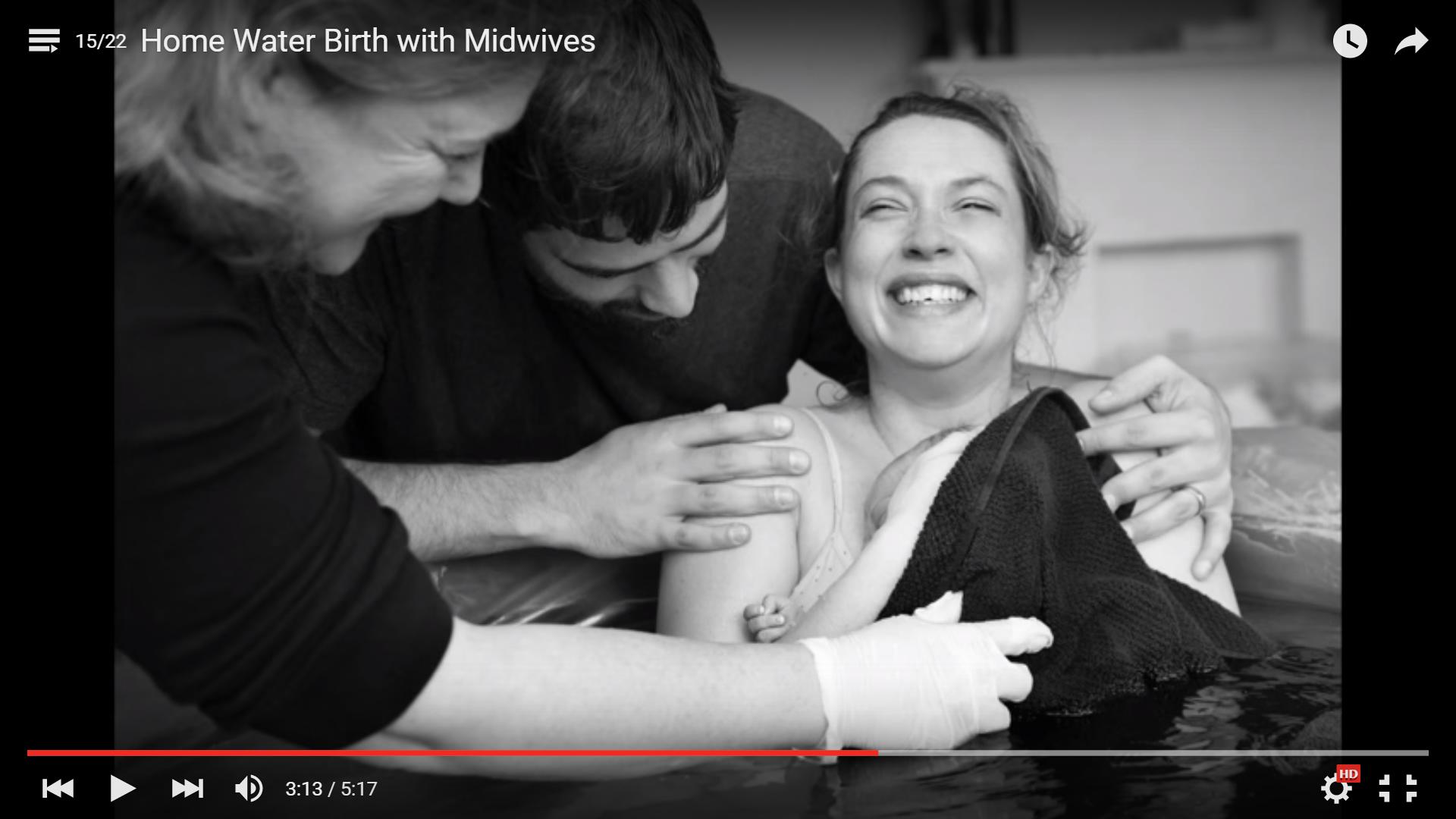 geboortefilmpjes